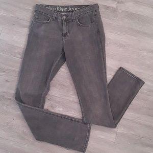 4/20$ Calvin klein Jeans Pencil gray low rise